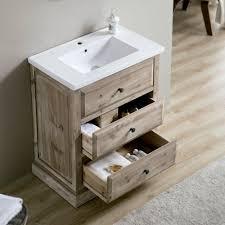 rustic modern bathroom vanities. Infurniture 30-inch Single Sink Rustic Bathroom Vanity With Ceramic Sinktop (30 Inch Vanity), Brown Driftwood, Size Vanities Modern