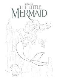 Little Mermaid Coloring Pages Free Printable Barbie Mermaid Coloring