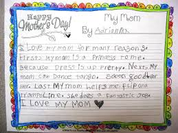 love my mom essay essay my mom essay an essay writing on my mother  teaching love and laughter mother s day writing and two here is a second grade essay