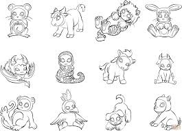Printable Animal Coloring Pages Dessin De Pages à Colorier Fresh Od