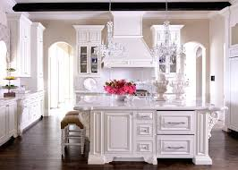 kitchen island with french corbels