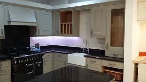 Granite Worktops Kitchen Studio Chatsworth Painted Ash Kitchen With Traditional D Handles