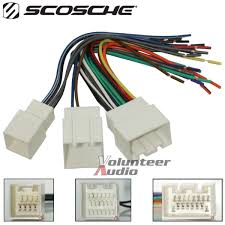 mach audio car stereo cd player wiring harness wire aftermarket Cadillac Wire Harness at Cd Player Wire Harness