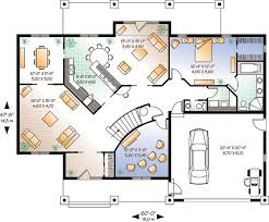 House Plan at FamilyHomePlans comFlorida House Plan Level One