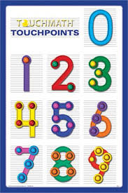 Free Printable Touch Math Chart I Called This Dot Math It Made Adding Easy And I Stopped