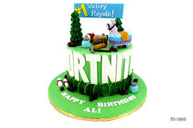 Fortnite Cake Bs 5860 Birthday Cake Bee Sweet Uae