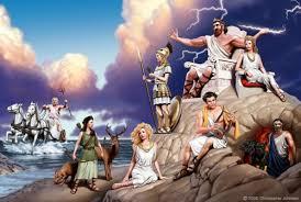 Короткие мифы древней Греции  Да