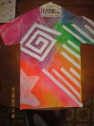 How To Design Art For T Shirt Tape And Spray Paint T Shirt Design Crafts For Boys