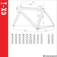 Colnago Cx Zero Size Chart Review Colnago Cx Zero Disc