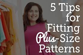 Plus Size Patterns Adorable 48 Tips For Fitting PlusSize Patterns National Sewing Circle