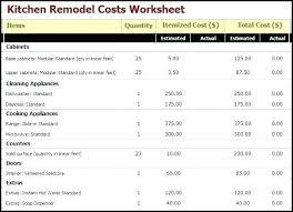 Kitchen Remodel Estimate Calculator Simple Design Inspiration