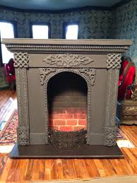 after unsuccessfully searching for a fireplace for the living room i decided to make my own i came across this blog by elizabeth slinn