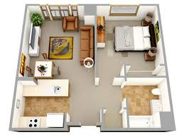 Modern Apartments And Houses 3D Floor Plans Different ModelsModern Apartment Floor Plans