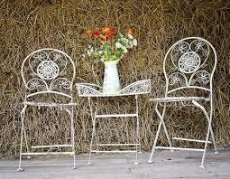 wrought iron wicker outdoor furniture white. White Wrought Iron Furniture Wicker Outdoor T