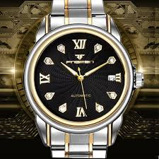 compare prices on accurate watches online shopping buy low price fngeen luxury brand men business constant motion automatic self wind mechanical accurate watches stainless steel