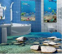 3D stereoscopic stone water 3D wall ...