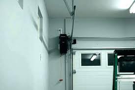 zero clearance garage door opener high ceiling garage door opener the genie low clearance garage door