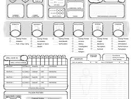 hero forge character sheet pathfinder character sheet printable image result for hero forge