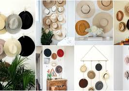 hat gallery wall ideas that make a