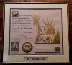 State farm insurance is often accused of not fulfilling contracts. Statue Of Liberty Restoration Certificate State Farm Insurance Company 1985 Ebay