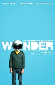 wonder theatrical release poster and diy astronaut helmet activity