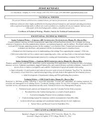 Sample Writer Resume Technical Writer Resume Samples Free Download ...