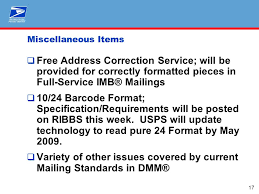 usps barcode format intelligent mail nppc may 13 intelligent mail vision provide end to