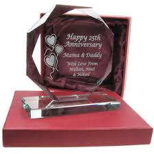 image is loading 40th ruby wedding anniversary end cut gl gift