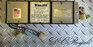 whelen edge light bar sl strobe head power supply tested whelen edge 9000 light bar sl6 strobe 6 head power supply tested