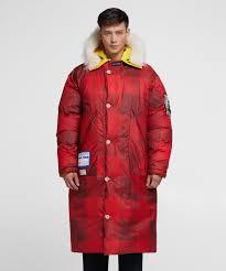 Reversible Sleeping Coat Griffin X Woolrich