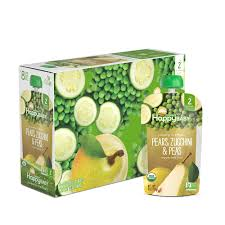 Happy Baby <b>Organic</b> Clearly Crafted Stage 2 <b>Baby Food Pears</b> ...