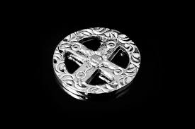 your medicine wheel pendant p 234a silver pendant