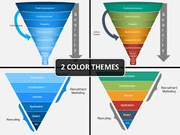 Powerpoint Funnel Chart Recruiting Funnel