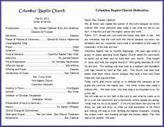 Church Program Template 9 Best Church Bulletins And Program Templates Images Church