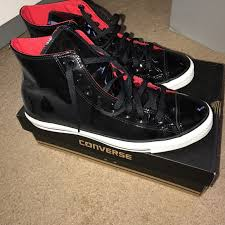 converse other men s patent leather high top converse sneakers
