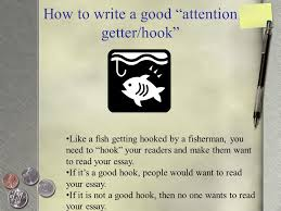 personal narrative ppt video online  how to write a good attention getter hook