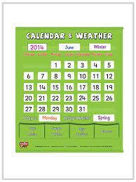 39400 Calendar Weather Pocket Chart