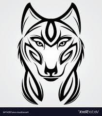 Wolf Tattoo Designs Free Download Idea Images Elegant Wolf Tribal