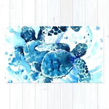 turtles rug turtles
