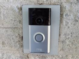 the ring video doorbell silver version