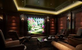 home theater ceiling lighting. Stunning Brown Sofas And Leather Near Solid Oak Table Inside Gorgeous Home Theater Design Ceiling Lighting E