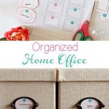 My Cute and Crafty Way to Organize My Home Office