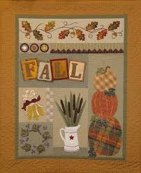 739 best Wool appliqué images on Pinterest | Mini quilts, Patterns ... & Fall - Applique Quilt Adamdwight.com