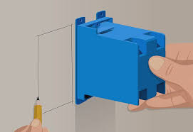 image of drywall mounted junction box