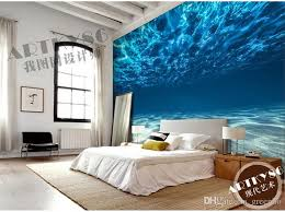Exceptional Charming Deep Sea Photo Wallpaper Custom Ocean Scenery Wallpaper Large  Mural Wall Painting Room Decor Silk Wall Art Bedroom Kidu0027s Room Home. ,  Maybe One On ...