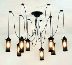 diy pipe lighting. Diy Industrial Lighting Pipe Chandelier Diy Pipe Lighting U