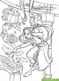 TOP tranh tô màu công chúa tóc mây - Jadiny