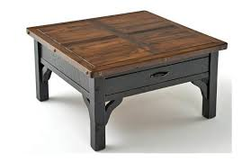 Endearing Reclaimed Wood Square Coffee Table Uncategorized Small Square Coffee Table