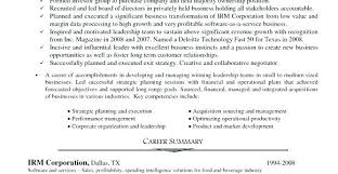 Example Of A Excellent Resume Good Resume Examples Example Of An ...