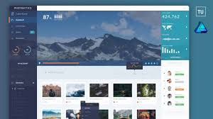 Web Dashboard Ui Design Photolytics Dashboard Ui Web Design Using Affinity Designer